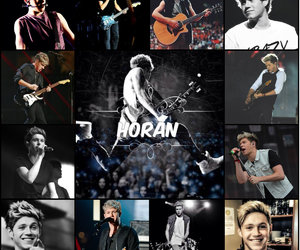 Collage and niall horan image