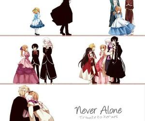 anime, mad hatter, and manga image