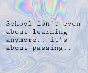 school, grunge, and passing image