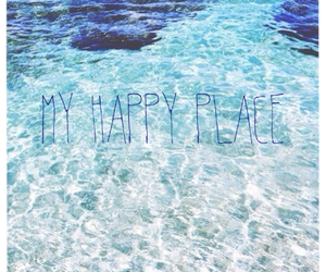 beach, happiness, and happy place image