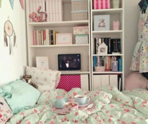 bed, girly, and inspiration image