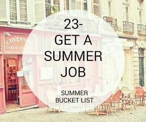 bucket, job, and summer image