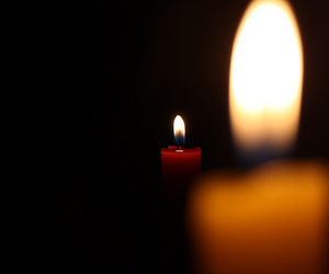 blackout, candle, and candles image