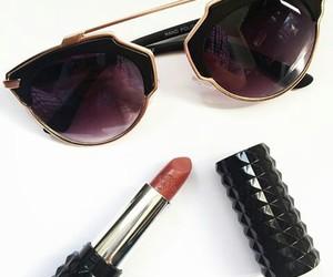 chic, lips, and lipstick image