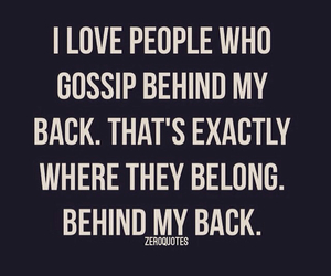 quote, gossip, and saying image