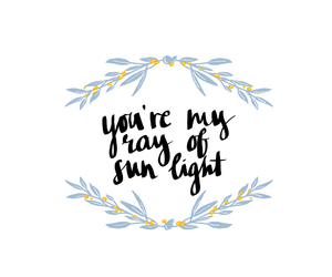 quote, summer, and sun image