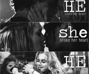 bellarke, the 100, and clexa image