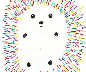 cute, animal, and art image