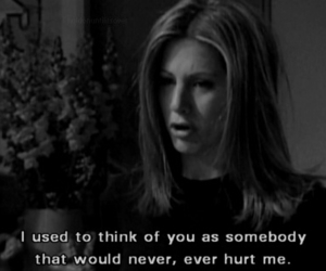 hurt, quotes, and friends image
