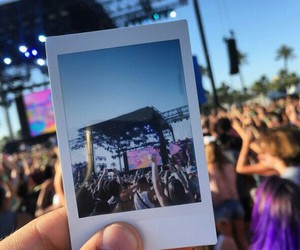coachella, summer, and music image