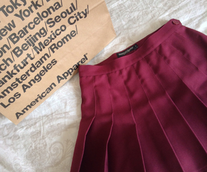 american, american apparel, and tennis skirt image