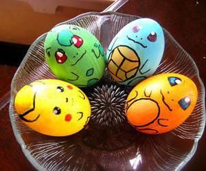 pokemon, eggs, and easter image