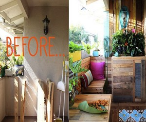 upcycled wood pallets, diy upcycled pallet, and pallets decor idea image