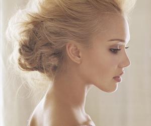 jessica alba, hair, and beautiful image