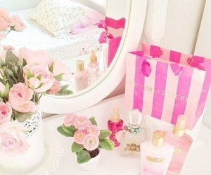 flowers and Victoria's Secret image
