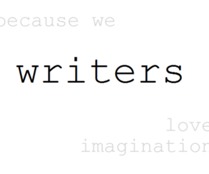 book, imagination, and writer image