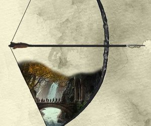 LOTR, Legolas, and bow image