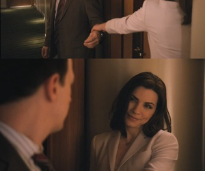 the good wife, will gardner, and alicia florrick image