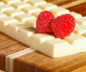 berry, white, and cake image