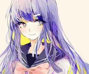 anime, anime girl, and sayaka maizono image