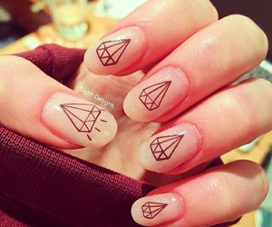 nails and diamonds image