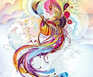 beautiful, colours, and sun image
