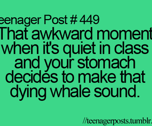 teenager post, quote, and awkward image