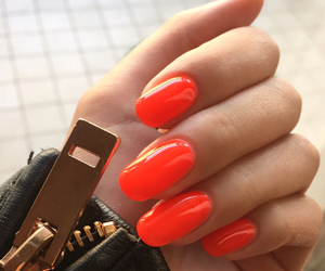 fresh, girl, and manicure image