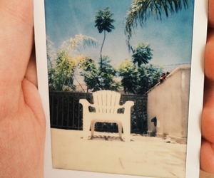 chair, sun, and sunny day image