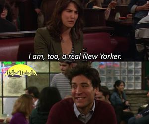 funny, himym, and robin image