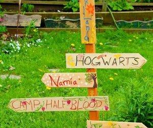 hogwarts, narnia, and neverland image