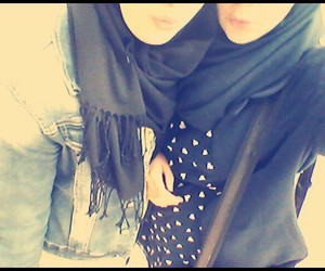 hijab style, cute, and friends image