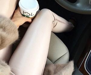 car, coffee, and fashion image