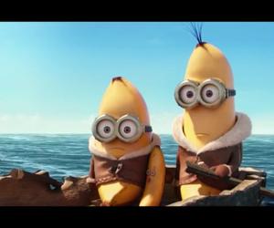 banana, funny, and disney image
