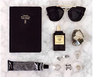 black, accessories, and style image