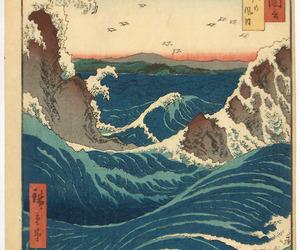 ukiyo-e and whirlpool image