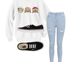 fashion, monkey, and outfit image