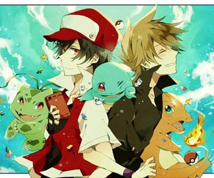 bulbasaur, pokemon, and red image