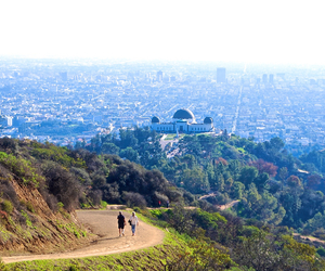 losangeles, skyline, and griffithpark image