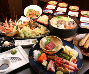 dessert, fish, and japanese food image