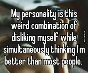 personality, quote, and funny image