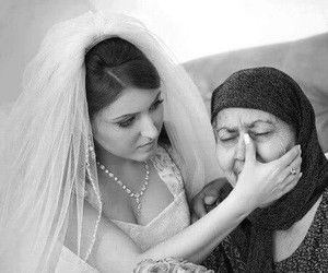 bride, mother, and mariage image