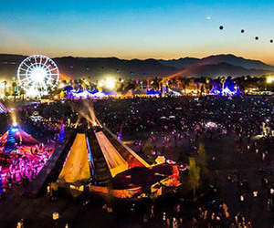coachella, festival, and music image