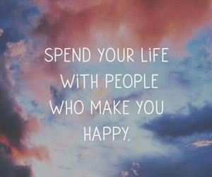 happy, spend, and make image