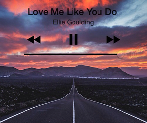 love, music, and Ellie Goulding image