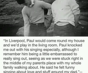 george harrison, Liverpool, and Paul McCartney image