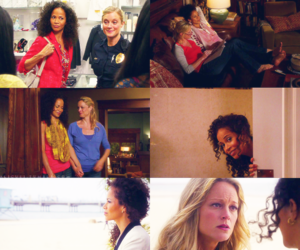 lena, stef, and the fosters image