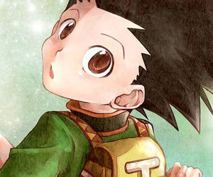 hunter x hunter and gon image