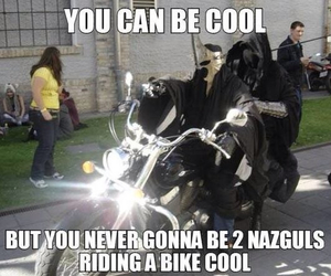 bikers, lord of the rings, and LOTR image
