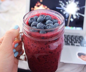 berries, fruit, and healthy image
